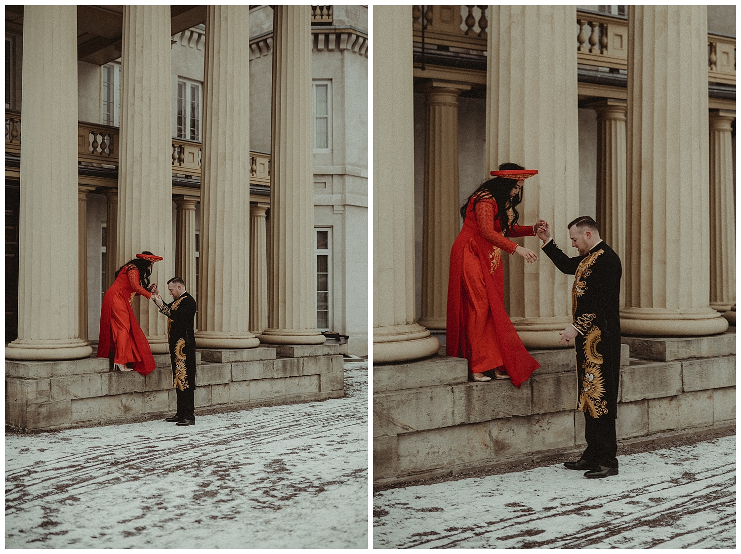 Katie Marie Photography | Hamilton Ontario Wedding Photographer | Hamilton Engagement Session | HamOnt | Vietnamese Engagement Session | Traditional Outfit Engagement Session | Dundurn Castle_0035.jpg