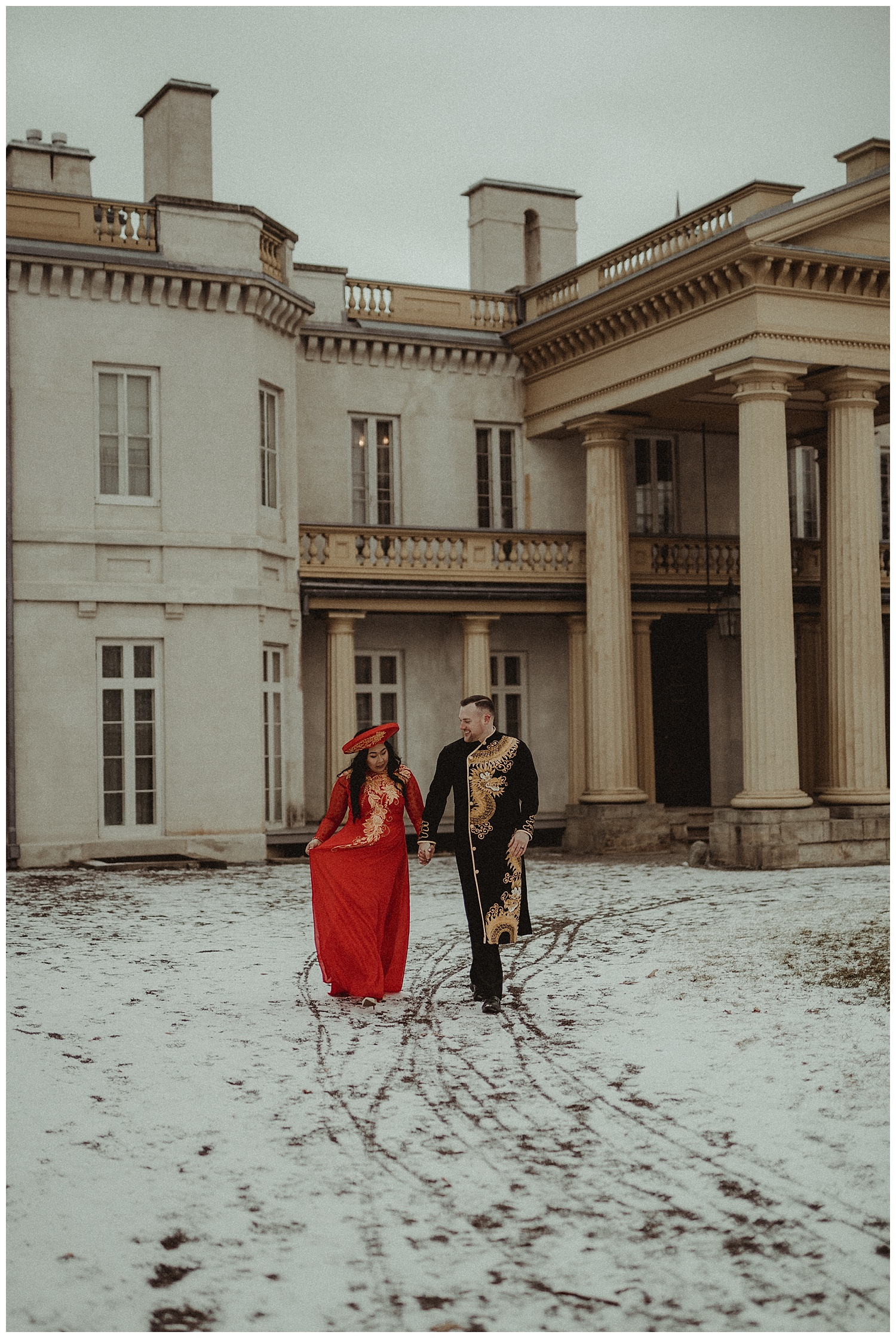Katie Marie Photography | Hamilton Ontario Wedding Photographer | Hamilton Engagement Session | HamOnt | Vietnamese Engagement Session | Traditional Outfit Engagement Session | Dundurn Castle_0037.jpg