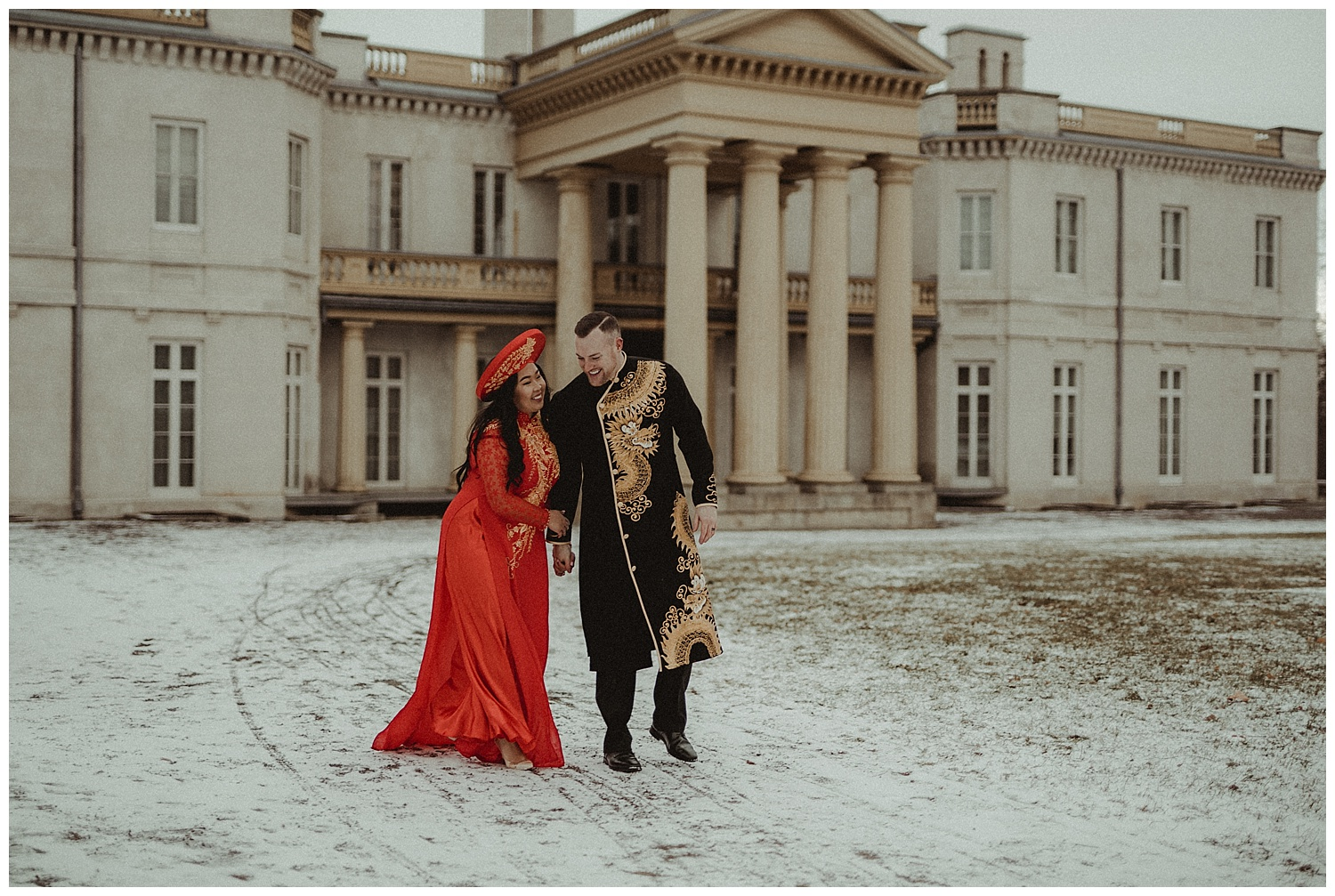 Katie Marie Photography | Hamilton Ontario Wedding Photographer | Hamilton Engagement Session | HamOnt | Vietnamese Engagement Session | Traditional Outfit Engagement Session | Dundurn Castle_0039.jpg
