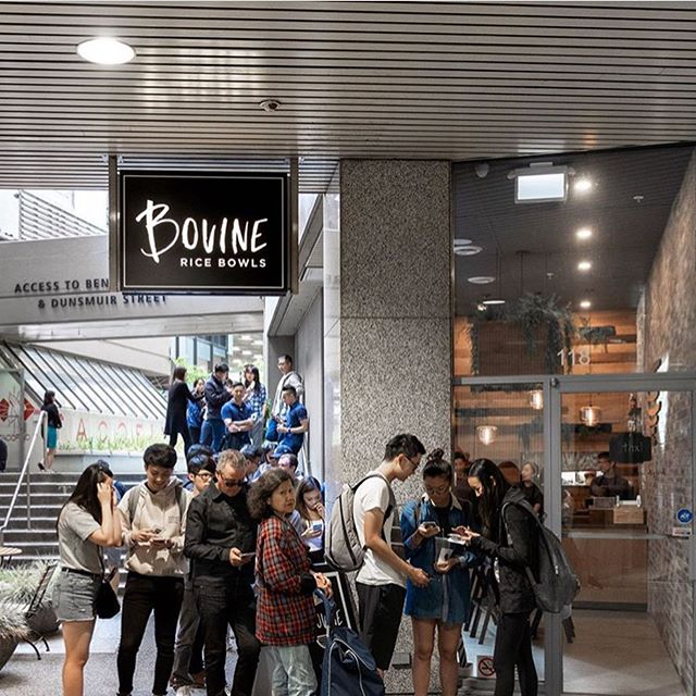A late happy first birthday to @bovinevancouver! It was such a unique opportunity to do the branding for a good friend's restaurant. And i have to say I'm more than a little proud to be part of your successful first year!