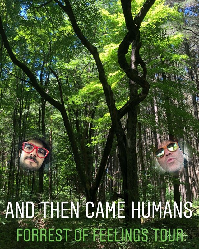 And Then Came Humans starts our 3 week tour this weekend!  Friday - Dayton OH @blindbobs  Saturday - Ann Arbor MI @nakamuracoop  These are going to be some great shows with stellar bands⚡️🍅⚡️ @andthencamehumanz @thedrumdeity  #andthencamehumans