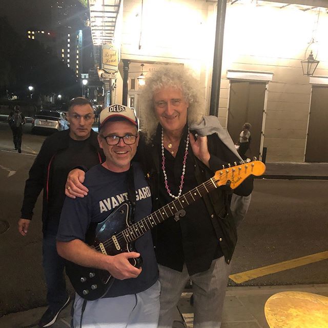 This was my audience last night in New Orleans... Not too Shabby!! #brianmay #queen #guitarhero #neworleans