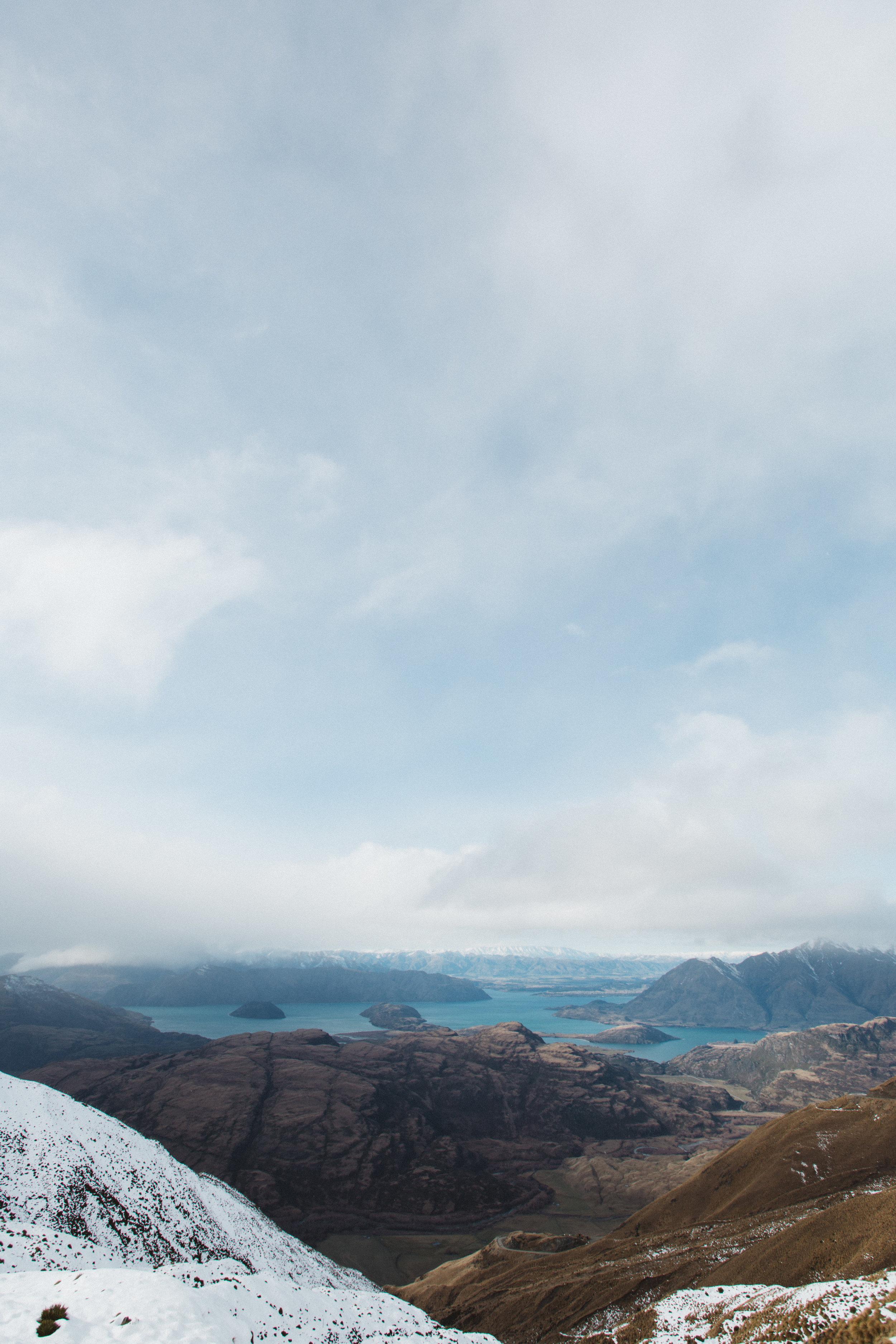 View atop Treble Cone Ski Area