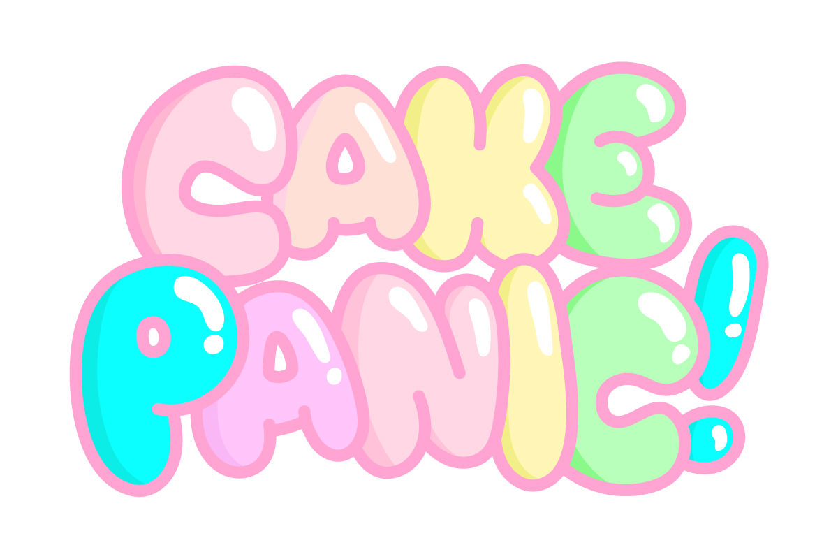 Logo for upcoming game Cake Panic