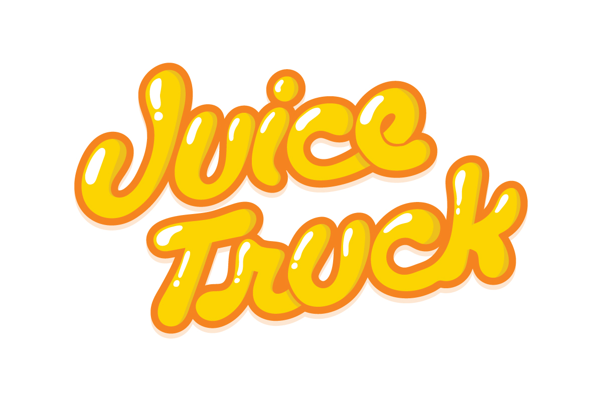 Juice Truck Lettering for Strathcona Beer