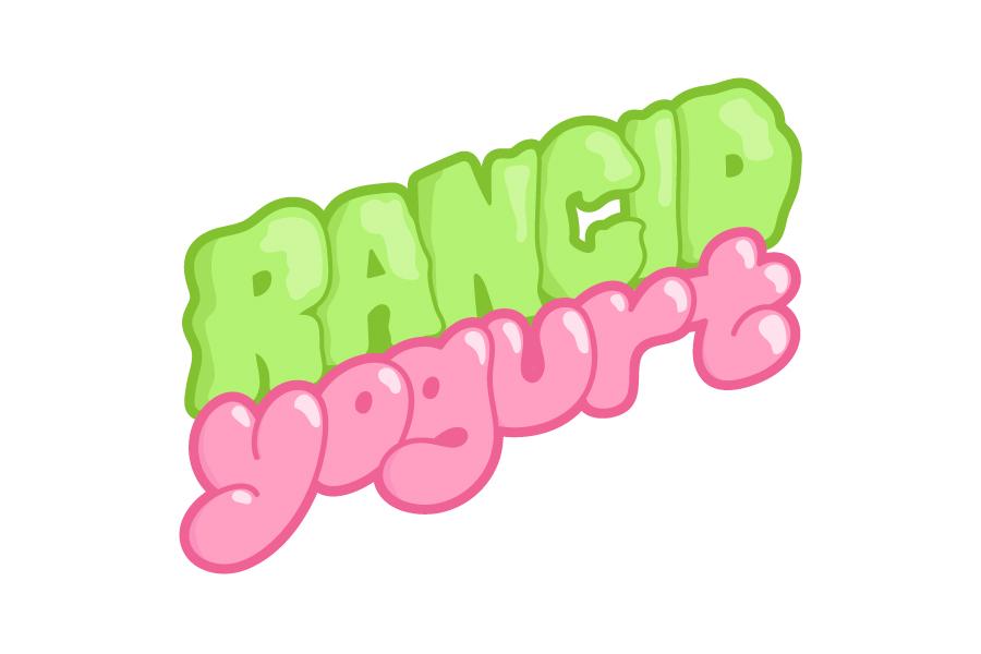 Logo for online shop Rancid Yogurt