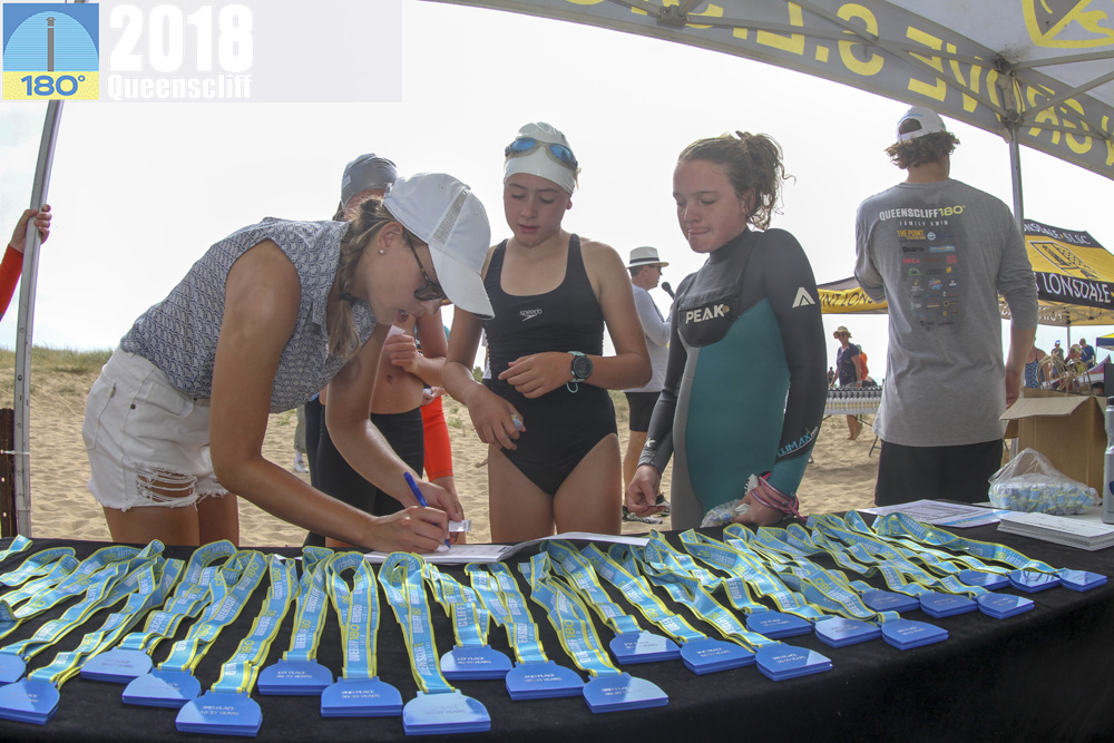Finish line area - Organising medals, prizes, place getters organising drinks, trestles, marquees.