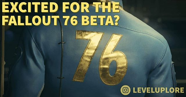 Ok, you caught us. We've been just a little addicted to @bethesda and their games lately. But aren't we all pretty excited for what they've made and have in store? Who else is ready for #fallout76?  #bethesda #fallout #leveluplore #podcast #gaming #lore #xbox #pc #ps4 #videogames #fallout4