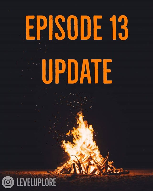 Hey Level Up Listeners!  We just wanted to let you know that our next episode will be coming out on the 31st, rather than tomorrow. We hope you understand and that you're excited for our episode coming out on the one-year anniversary of Level Up Lore! So keep your eyes out for another spooky tale and some other fun news soon!  Much love 🧡 - the LUL team  #leveluplore #podcast #gaming #lore #skyrim #october #halloween #spooky #xbox #pc #ps4 #bethesda #vampires