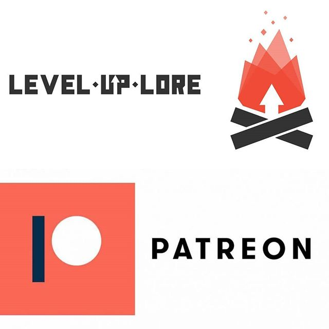 With the announcement of our one year anniversary, the Level Up Lore team is happy to announce the opening of our own @patreon account. We can't wait to see who wants to help us light the virtual campfire and we're excited about all of the extra exclusives we have for our future patrons. Be sure to check it out and join the LUL family 🔥  #leveluplore #patreon #podcast #gaming