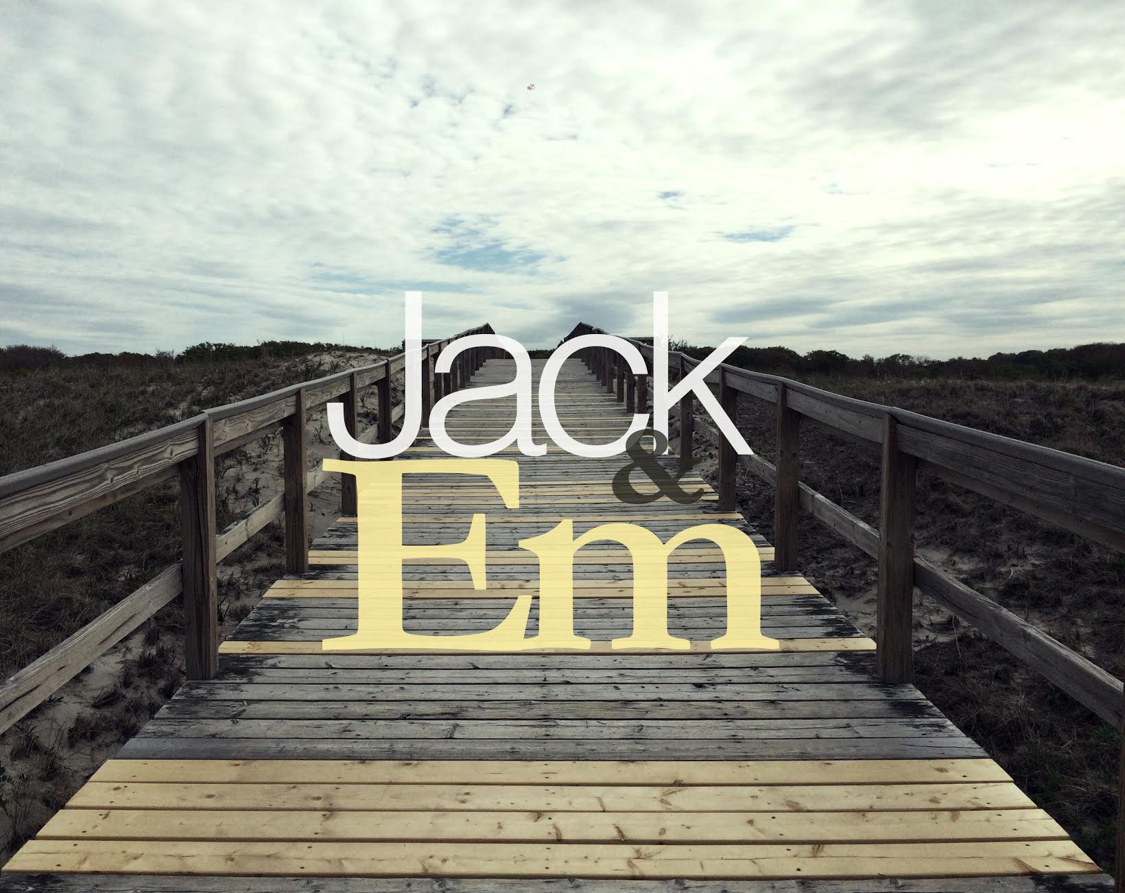 Jack and Em is a love story about loss, about grief, about how to put yourself aside and keep pushing through for the people and in this case family, and child that need you. Find comfort in others, when the instinct may be to push them away.