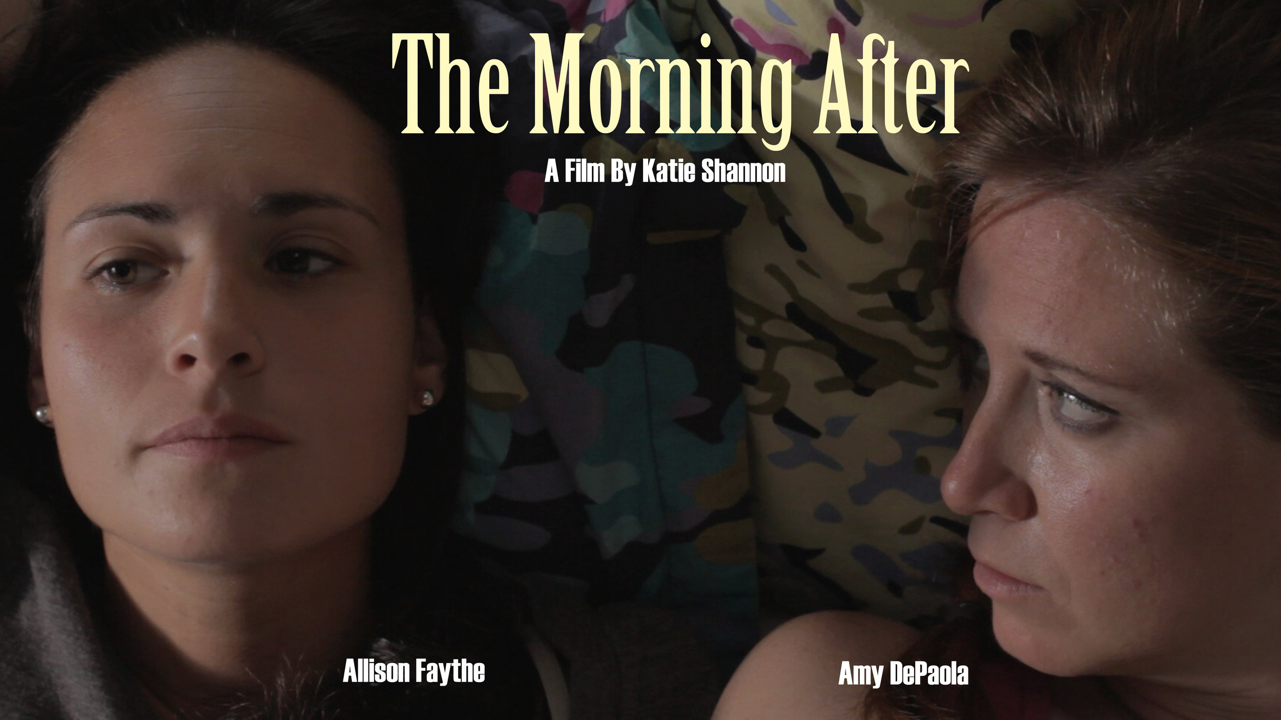 - The Morning After follows a couple as they try to figure out what's next in their relationship.