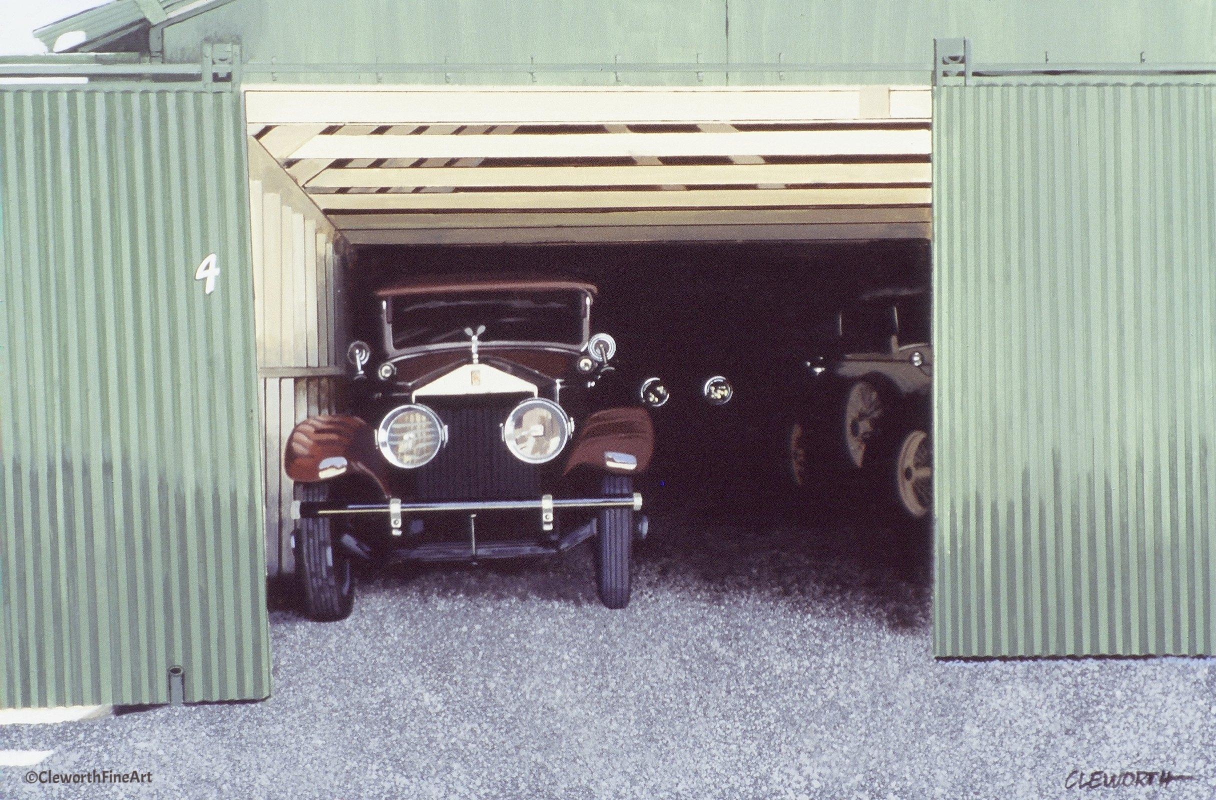 """Rolls-Royce Garage"""