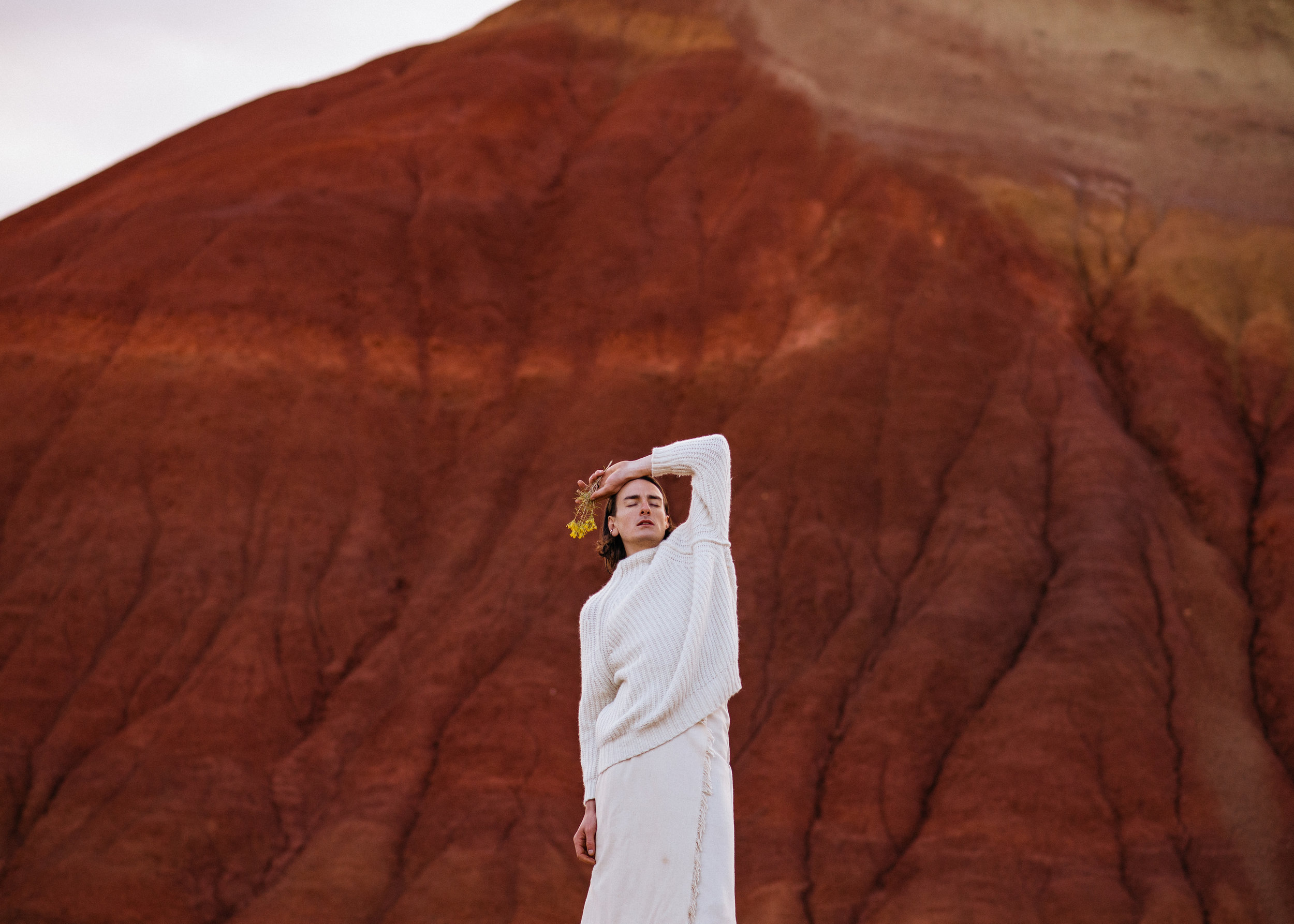 BRANDON IN THE PAINTED HILLS -