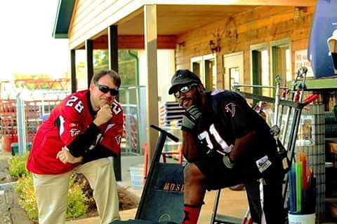 These gentlemen predicted on the set of Full Count Martin & Kenny that the Falcons would have ups and downs this year but would make the playoffs. #ontheroadtorecovery #allweneededtodowasgetin #anyonesgamenow #congratsatlanta #playoffbound #Atlanta #superbowlvision #Georgia #filmcrew #faithbase #faith #setlife