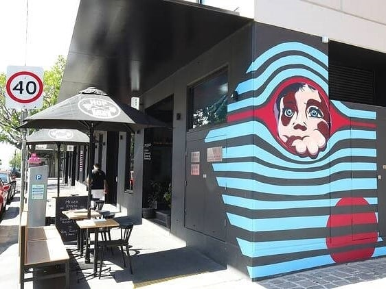 If you're in the Fitzroy area, look out for the street art just outside our restaurant on Gertrude St. When you see it, that's your cue to come in for a drink.. which may lead to a snack… oh you might as well stay for a meal! We insist! 😉 (Photo: @timeoutmelbourne)