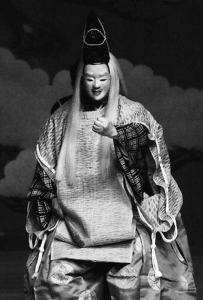 『歌占』 シテ 粟谷能夫(平成24 年10 月14 日 粟谷能の会) 撮影:青木信二