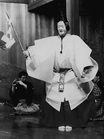 『巻絹』 シテ 粟谷明生 昭和55 年4月26 日  青年喜多会 撮影:あびこ喜久三