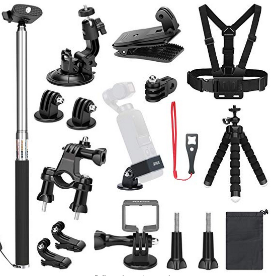 Mount your camera! - Every possible mount option for DJI OSMO Pocket and GoPro Hero Series cameras!