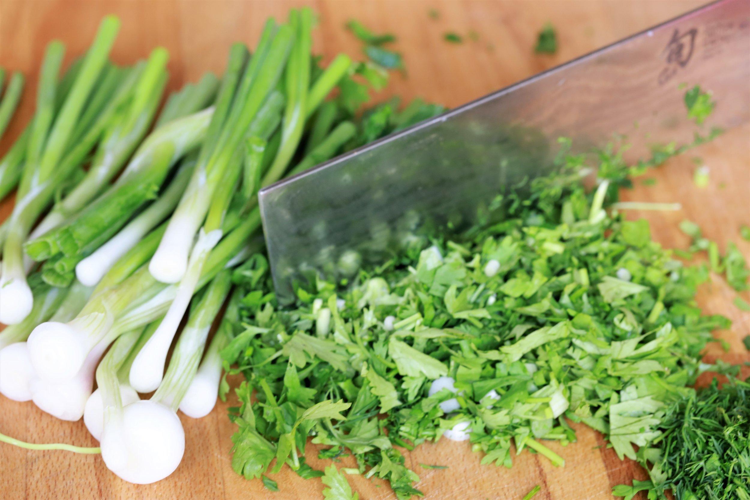 Cutting herbs.JPG