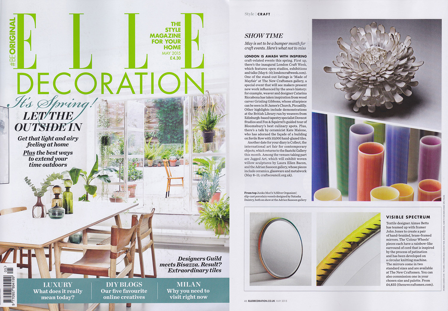 Elle Decoration, May 2015