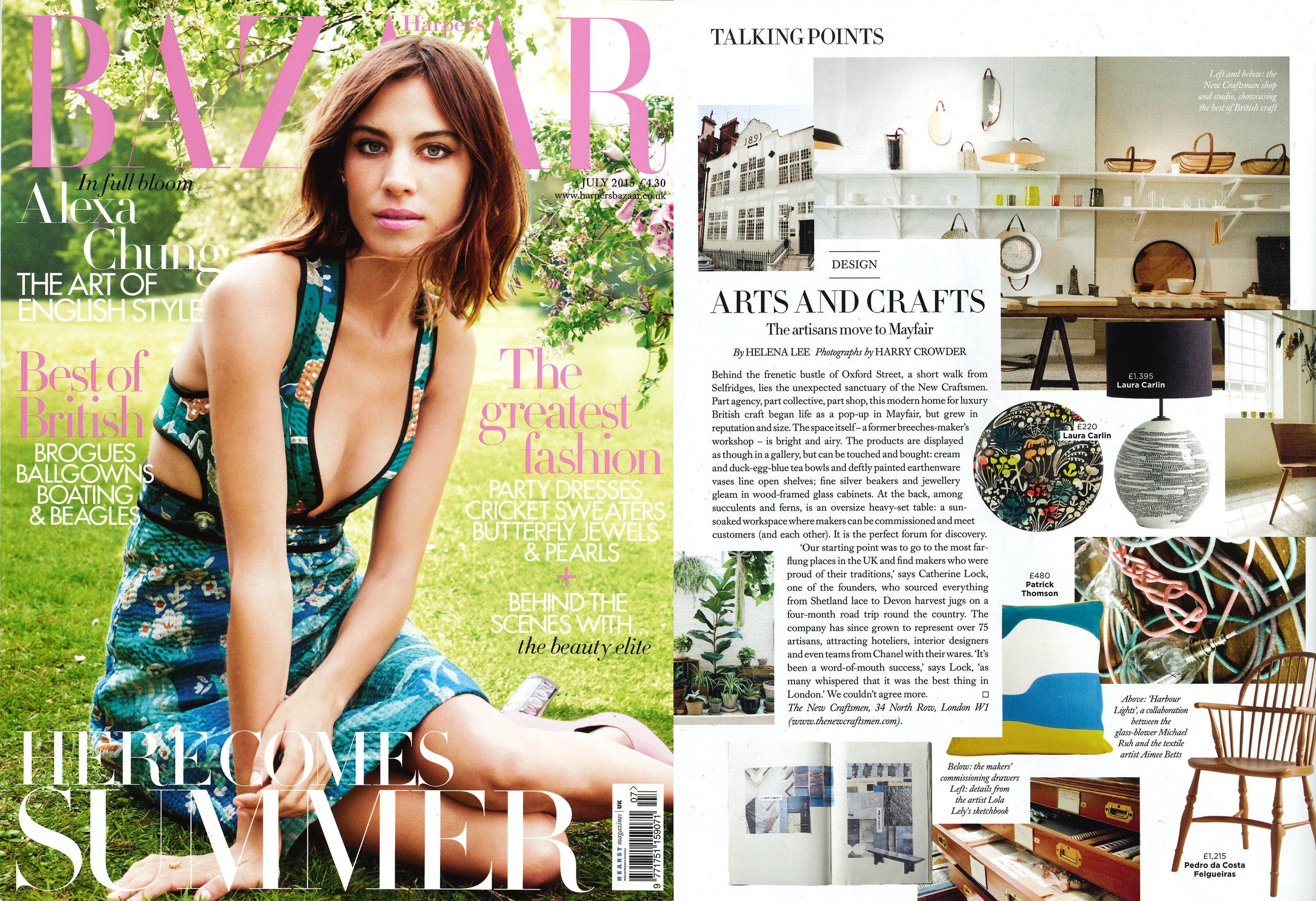 Harpers Bazaar, July 2015