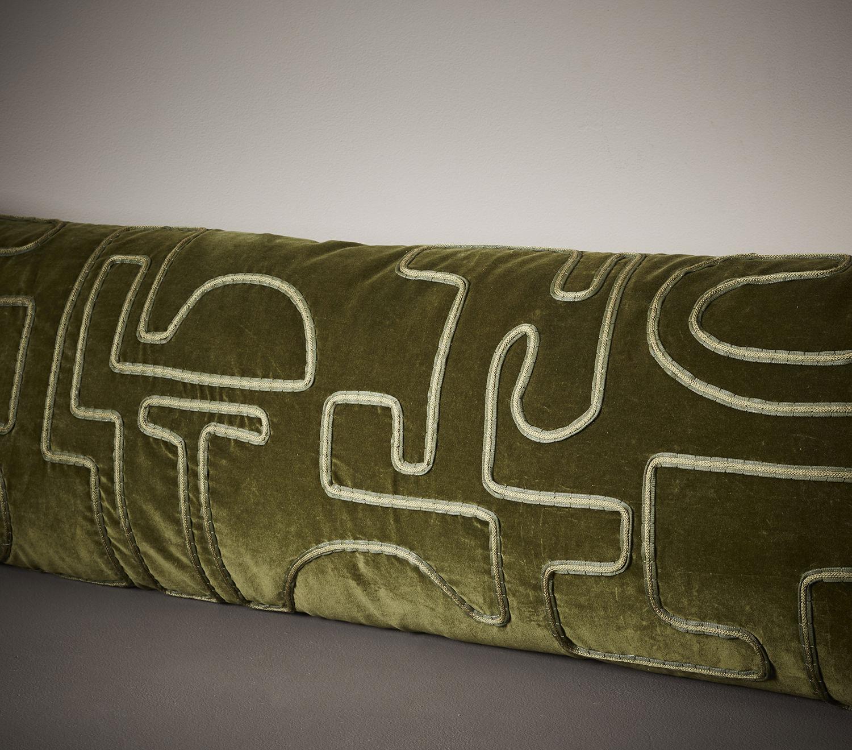 Aimee Betts-The New Craftsmen-Burberry Makers House-Velvet Bolster Cushion 003.jpg