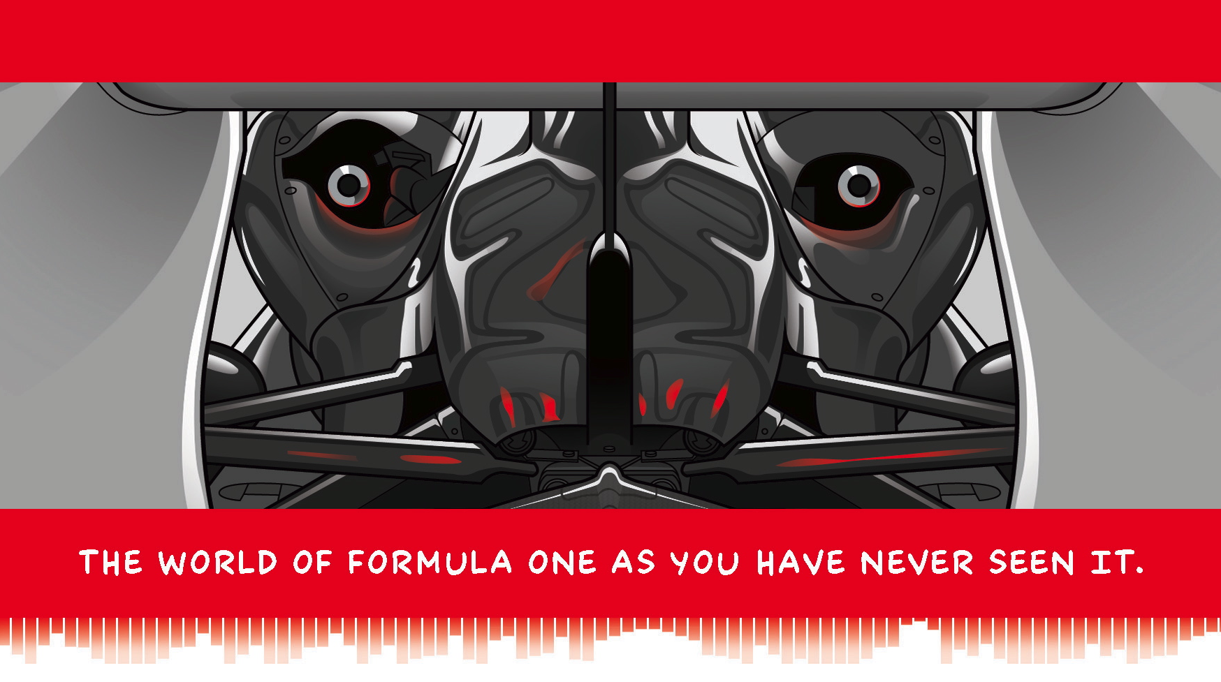 Illustration from  The Art of War - Five Years in Formula One  © Adam Parr 2012.