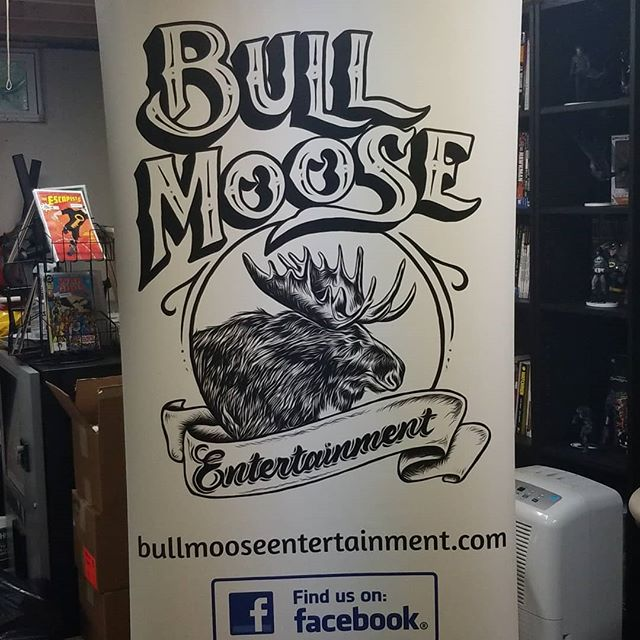 Hey! Check it out, our banner came!