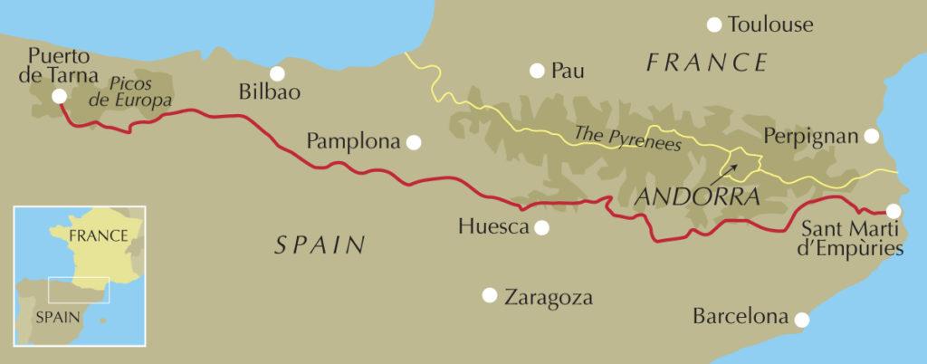 2weeks on the Spain's Sendero Historico awomanafoot.com