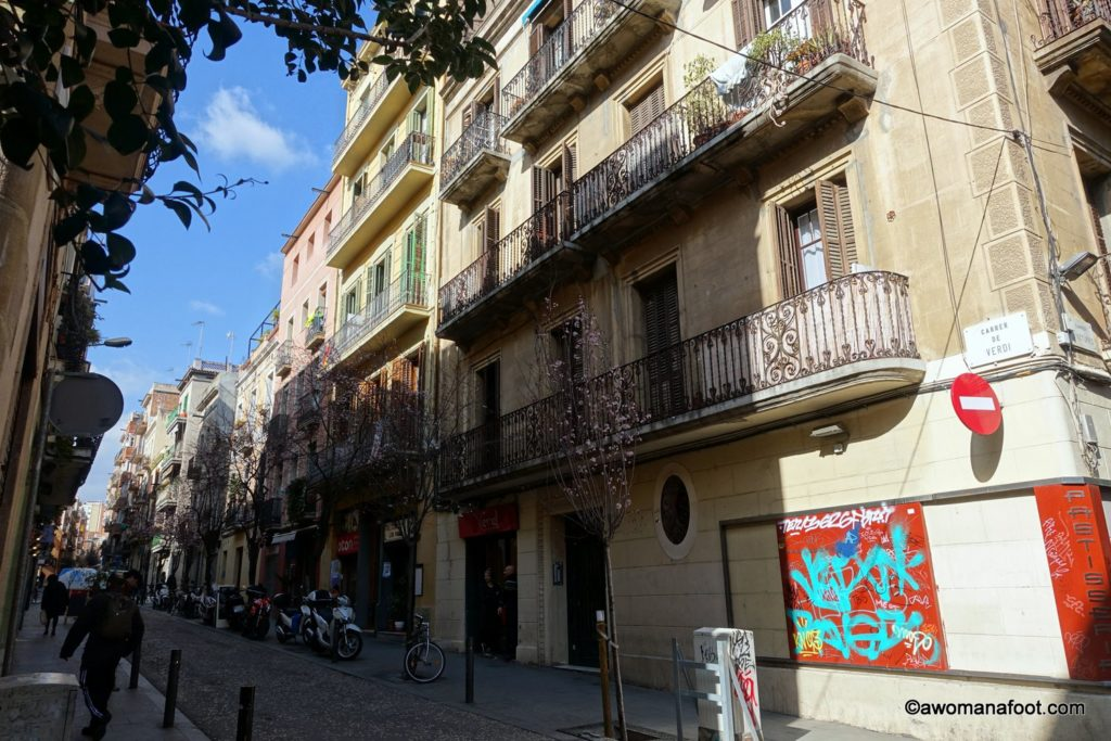 Wandering through the beautiful district of Gràcia in Barcelona. Discover the capitol of Catalonia beyond the Gothic Quarter and Sagrada Familia. awomanafoot.com What to do in Barcelona?   City guide   Travel to Spain   #Gracia #Barcelona #Spain #destination Beautiful travel destinations   Best European cities  
