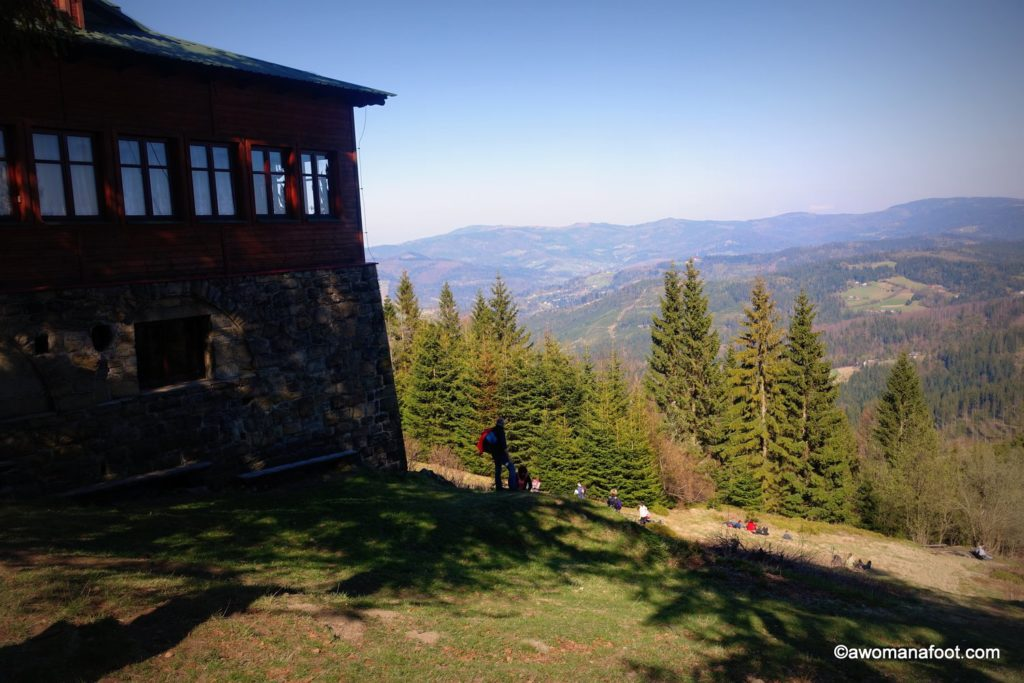 Check out one of the best day hikes Silesian Beskids have to offer - great views, challenging trails and cheap accommodation - don't miss it! Day Hike #3: Wisła Głębce - Stożek Wielki - Wisła Dziechcinka. Learn more about hiking in Poland @ Awomanafoot.com   women hikers   Beskid   Poland   hiking #trails   #Wisła   Carpathians   #Hiking in #Poland   #solo   Hiking trails in Europe   Europe off the beaten path   Active vacation destinations 