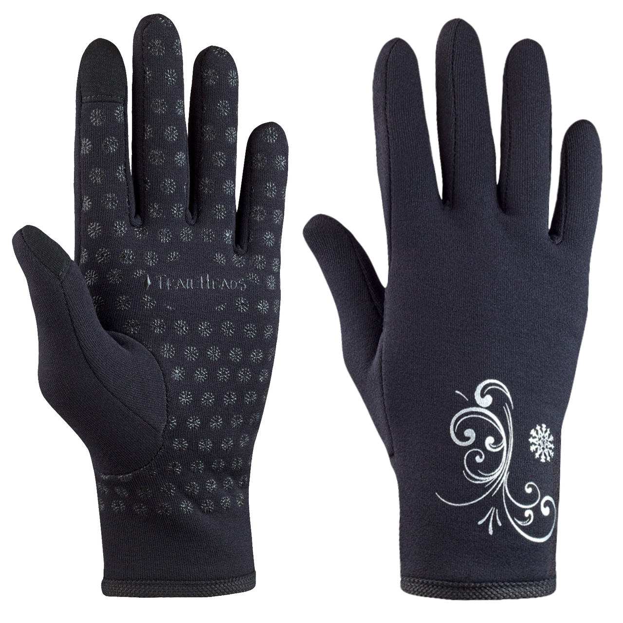 Trailheads Running Gloves - Perfect for running and for hiking. Thin and stretchy, they are the perfect protection on a windy hike.