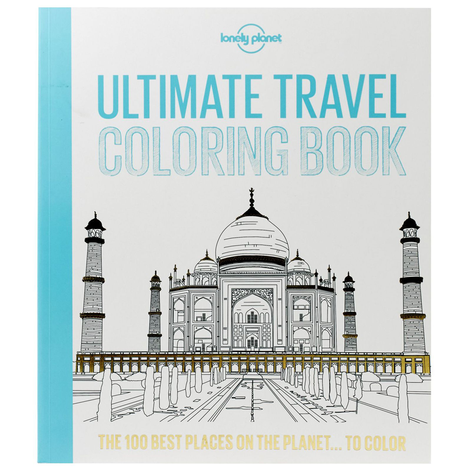 Lonely Planet Ultimate Travel Coloring Book - It might not be the most practical of gifts... but come on - it is not just about serious business, right? To calm the nerves between travels, to recall visited places or dream and plan about new ones.