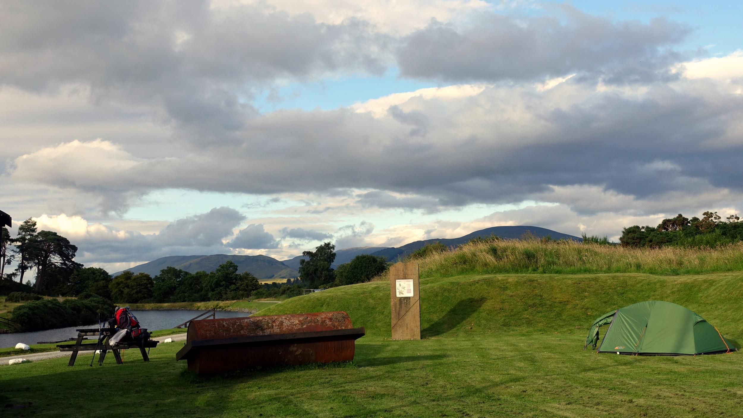Vango in Scotland, along the Great Glen Way