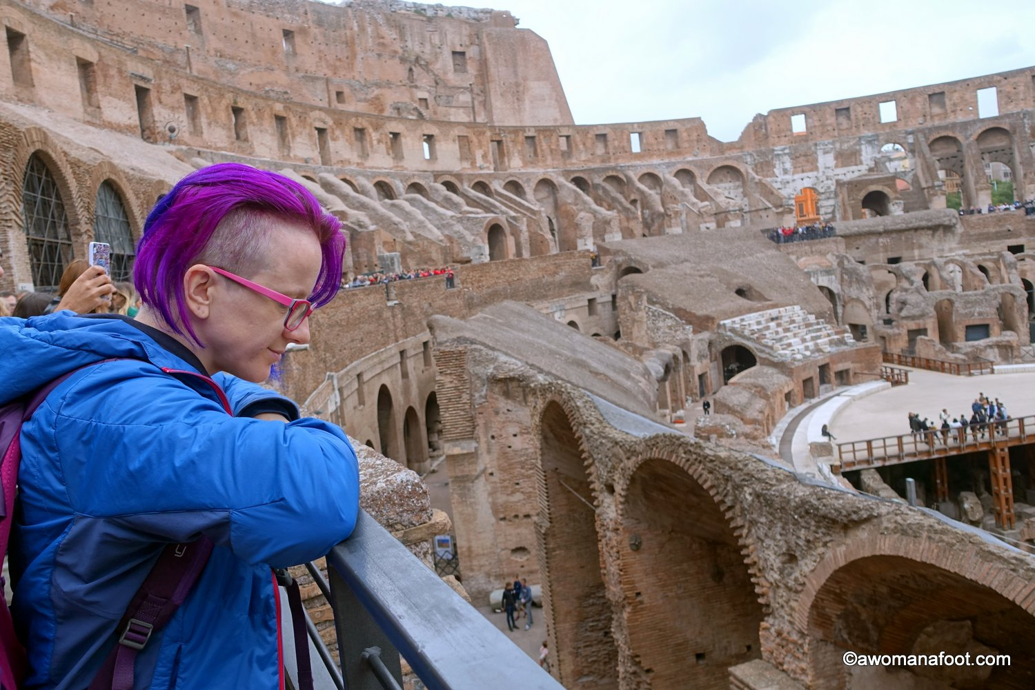 Colosseum: the symbol of Ancient Rome. What is it like to finally see with your own eyes? Read to find out. | Rome | Italy | Must-see in Rome | What to do in Rome | Ancient Architecture | Europe | travel| Awomanafoot.com