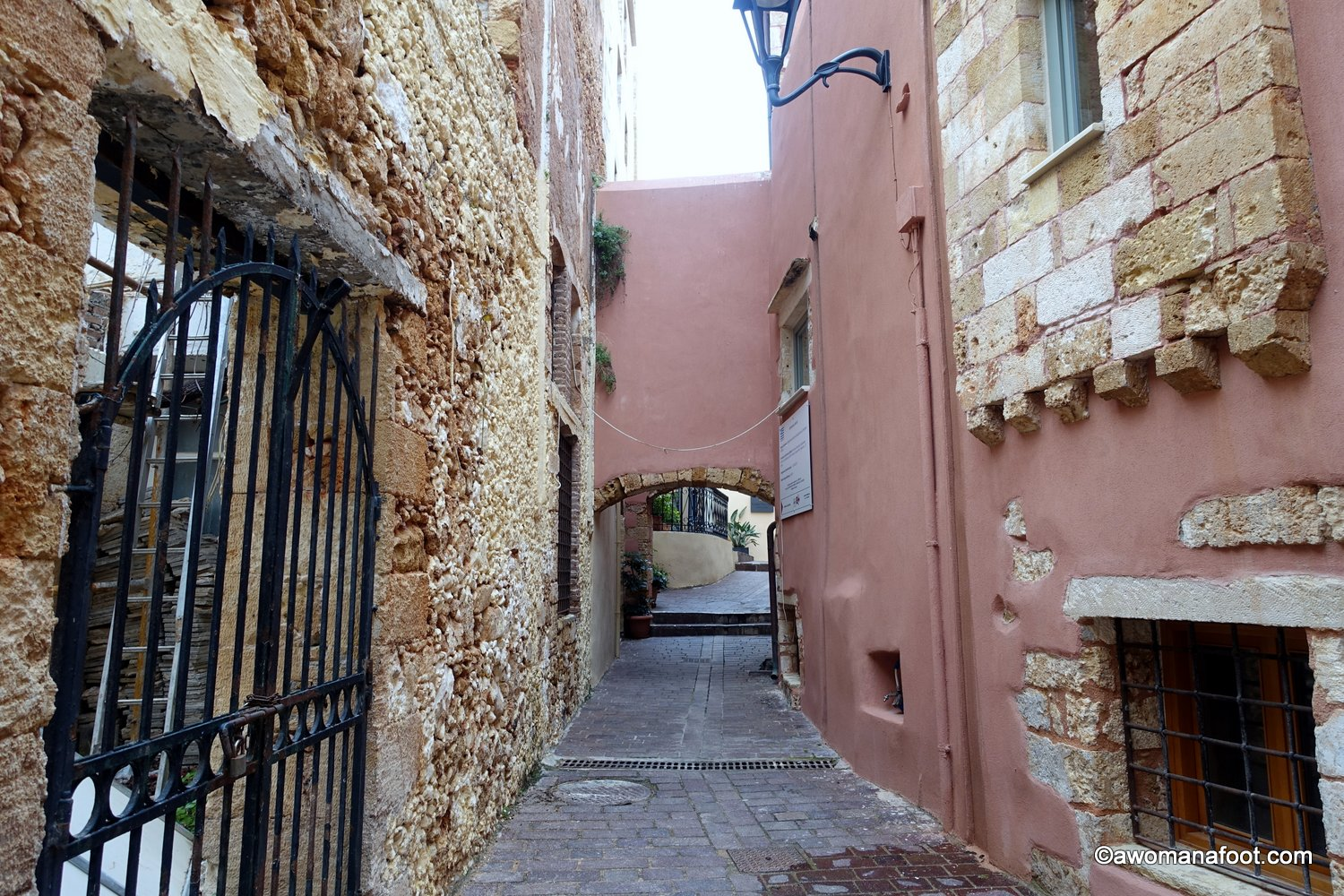 Chania Greece Crete solo travel january