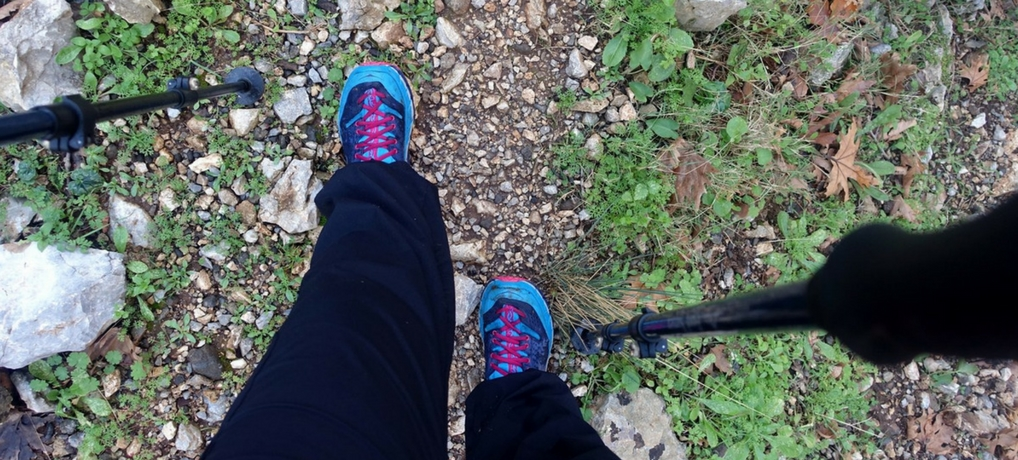 Gear review - are HOKA One One TOR Ultra Hi hiking boots for you? I know they are the perfect hiking boots for me! Check what is so special about them and why I love them so. | Awomanafoot.com | #Gear | #Hiking | #Boots | #FemaleHikers | Hiking boots for women | Hiking boots review | #HokaOneOne | Which hiking boots should I buy? | Best hiking boots for women |