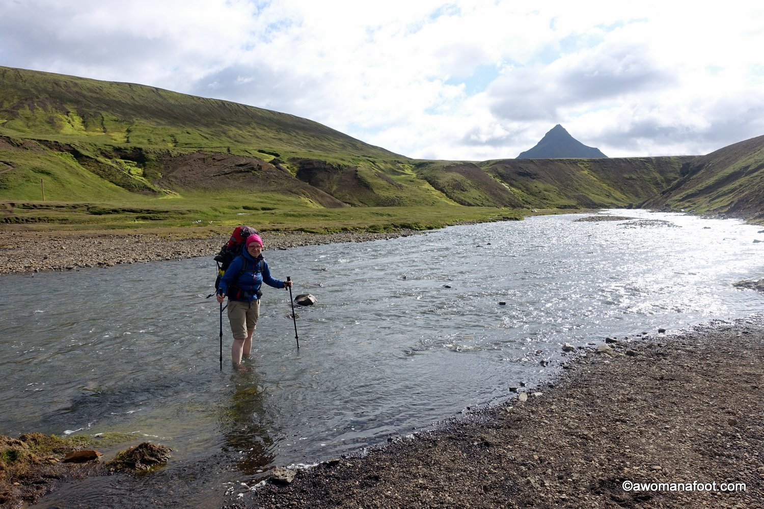 Before you hit the trails in Iceland, learn a few things to go prepared! Read this collection of useful tips and advice on hiking in Iceland. Awomanafoot.com |#Iceland | #trails | #hiking | #HikingIceland | All you need to know before hiking in Iceland | Female solo hiking in Iceland | Guide to hiking in Iceland | What you need to know before hiking in Iceland |