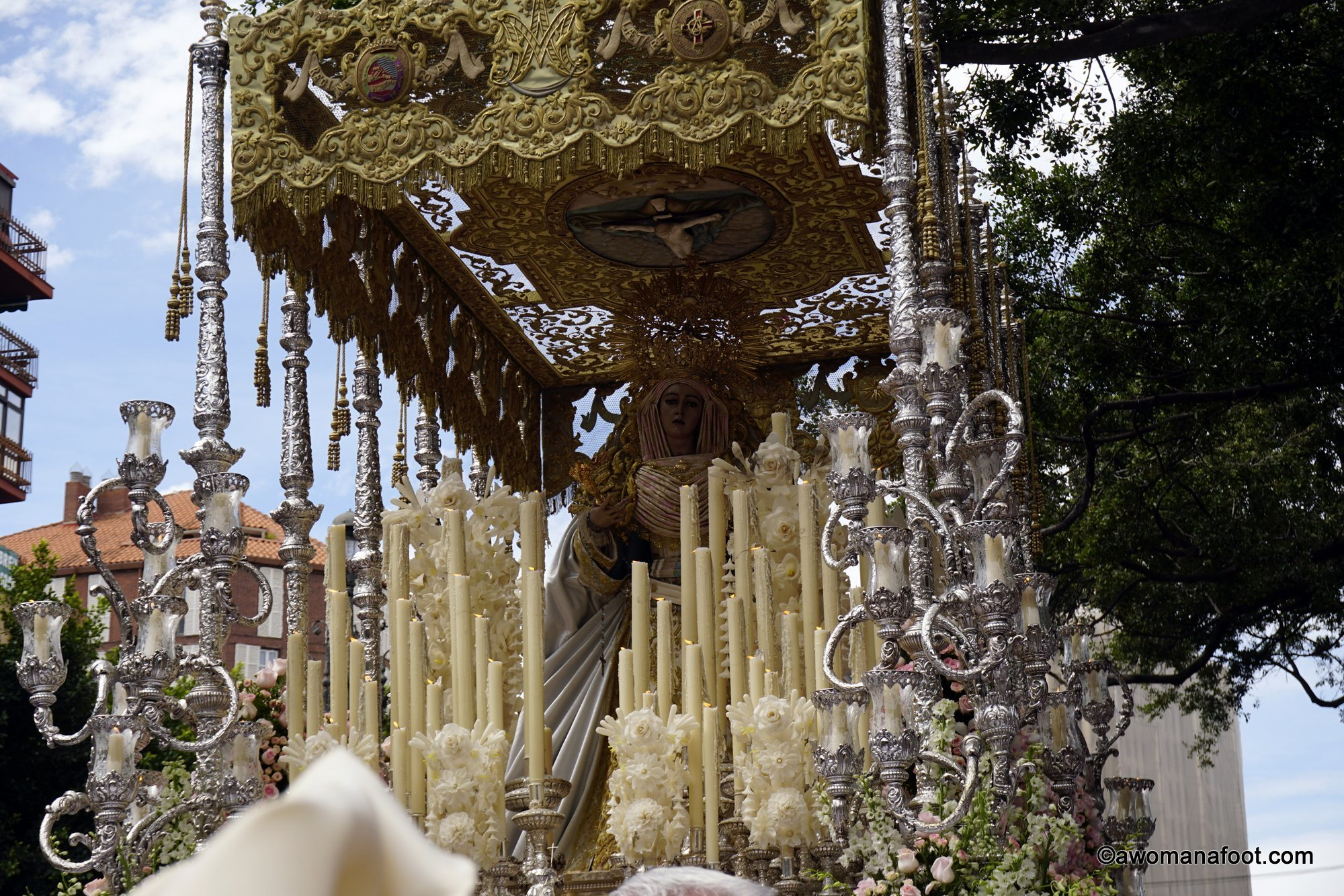 Easter is the perfect time to visit Spain - experience the uniquely Spanish traditions during the Semana Santa - Holy Week preceding the Catholic holiday of Easter. Awomanafoot.com   #Spain   #SemanaSanta   #Malaga   #Easter   #CultureTravel   #EuropeanTravel   What to do in Spain   Best time to go to Spain   Easter Celebrations   Easter in Malaga   Malaga travel   Holiday Traditions   Catholic Traditions   #CityGuide   #TravelDestinations