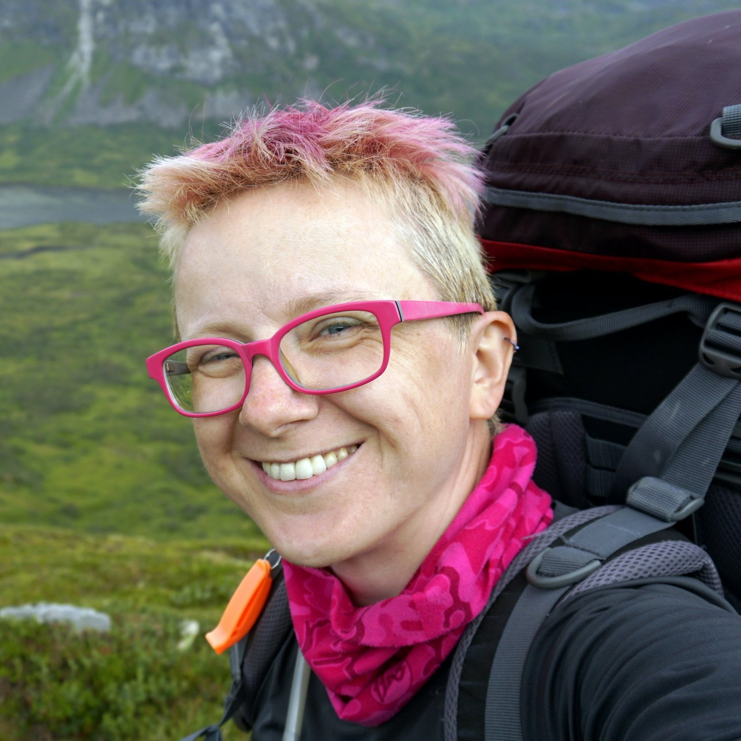 Woman Afoot solo female hiking camping
