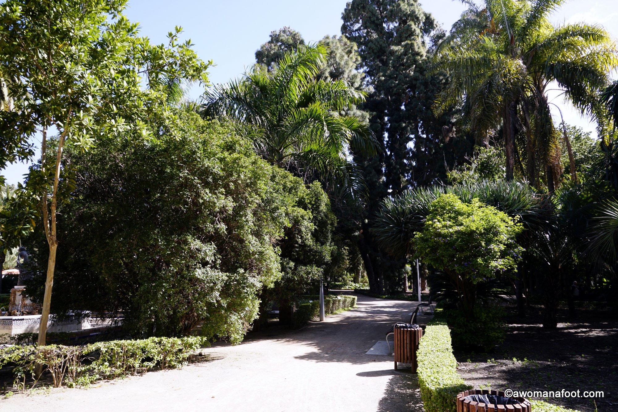 Malaga gardens greenery visit Spain
