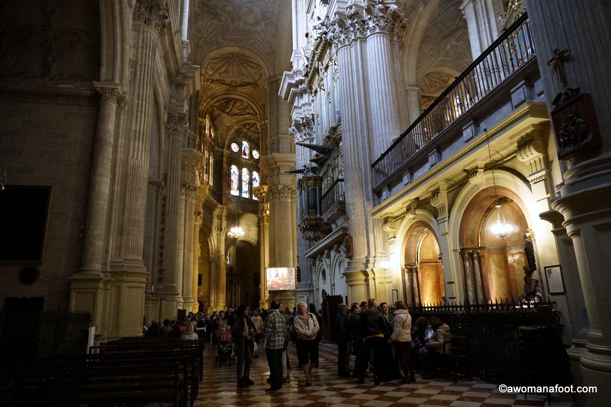 Malaga cathedral church Spain