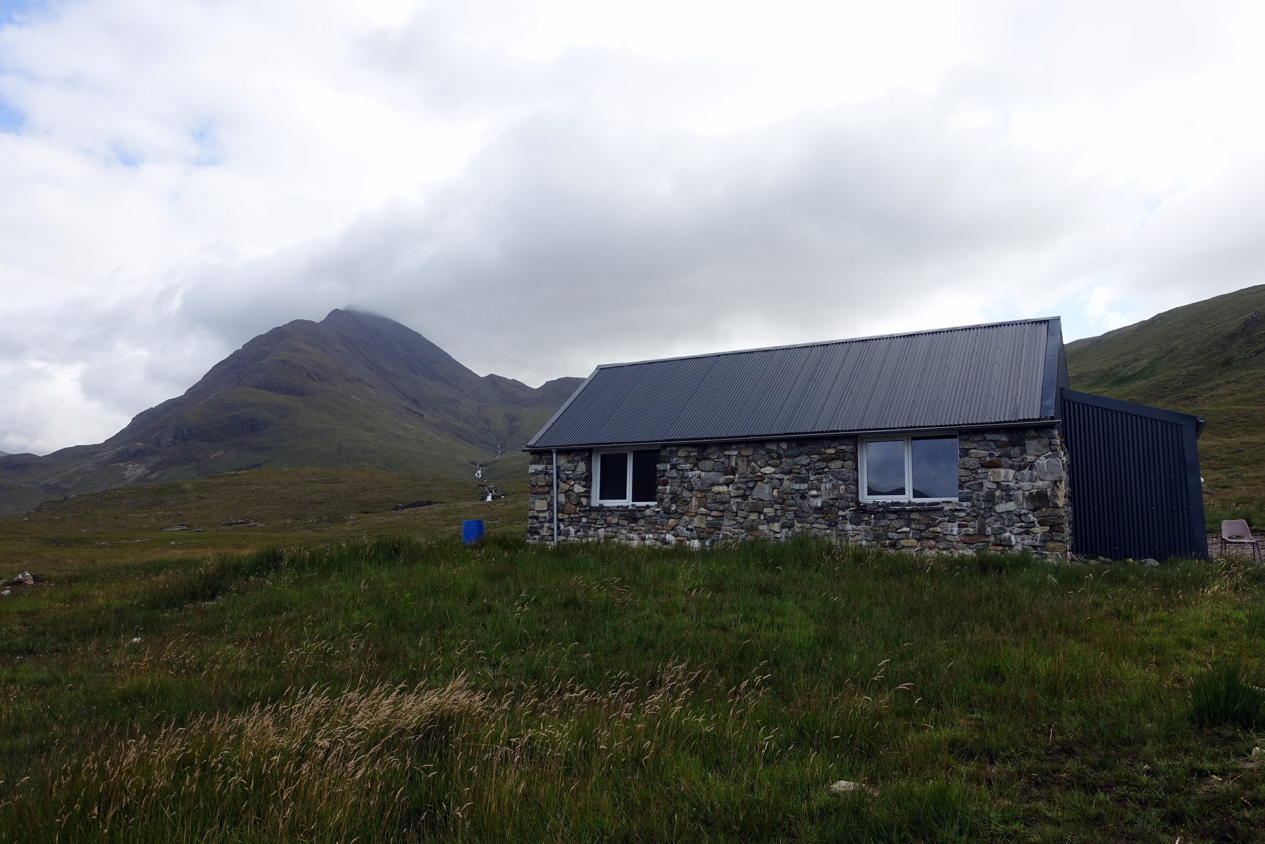 camping isle of skye camasunary bothy hikers accommodation