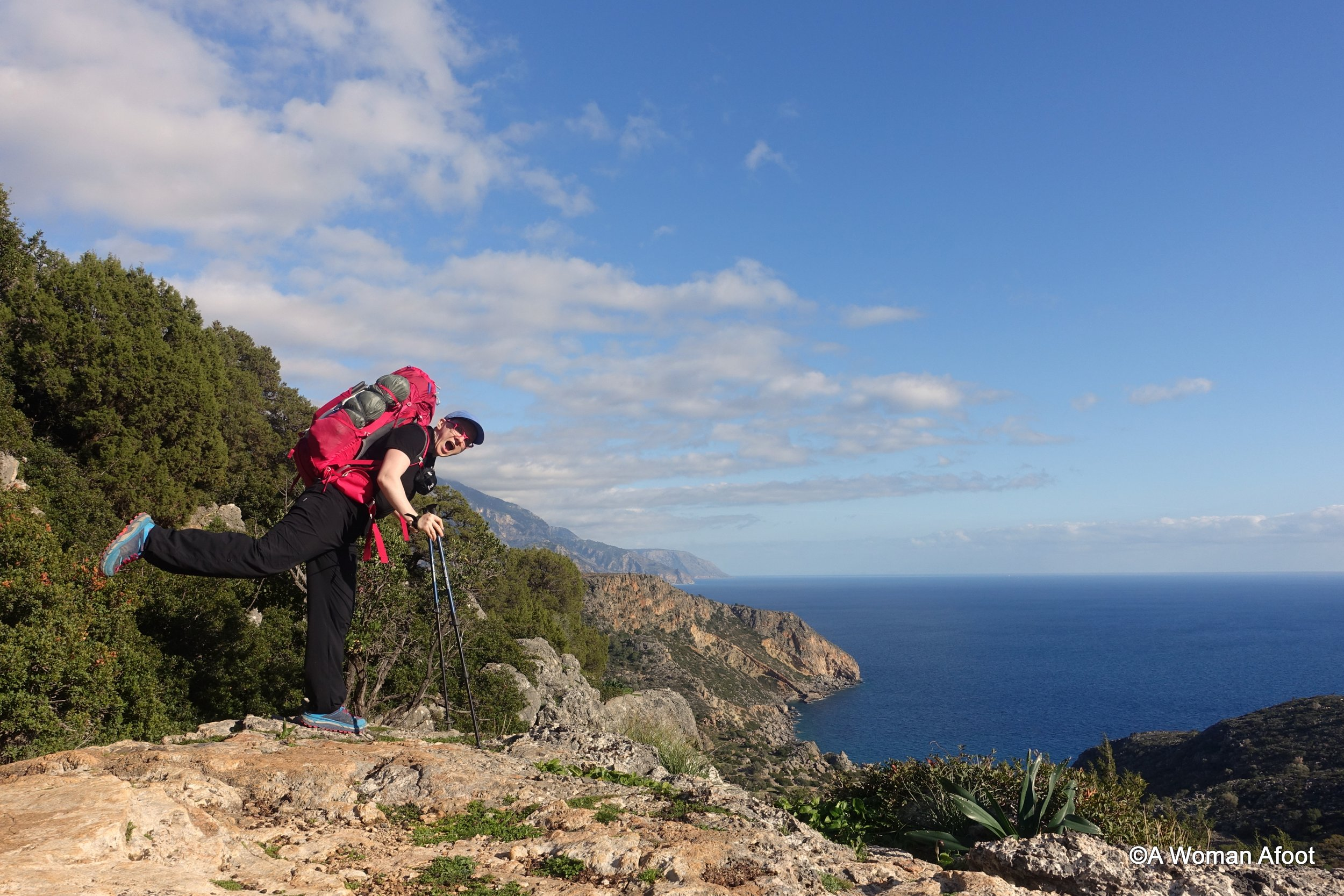 Packing list hiking southern europe spring camping women