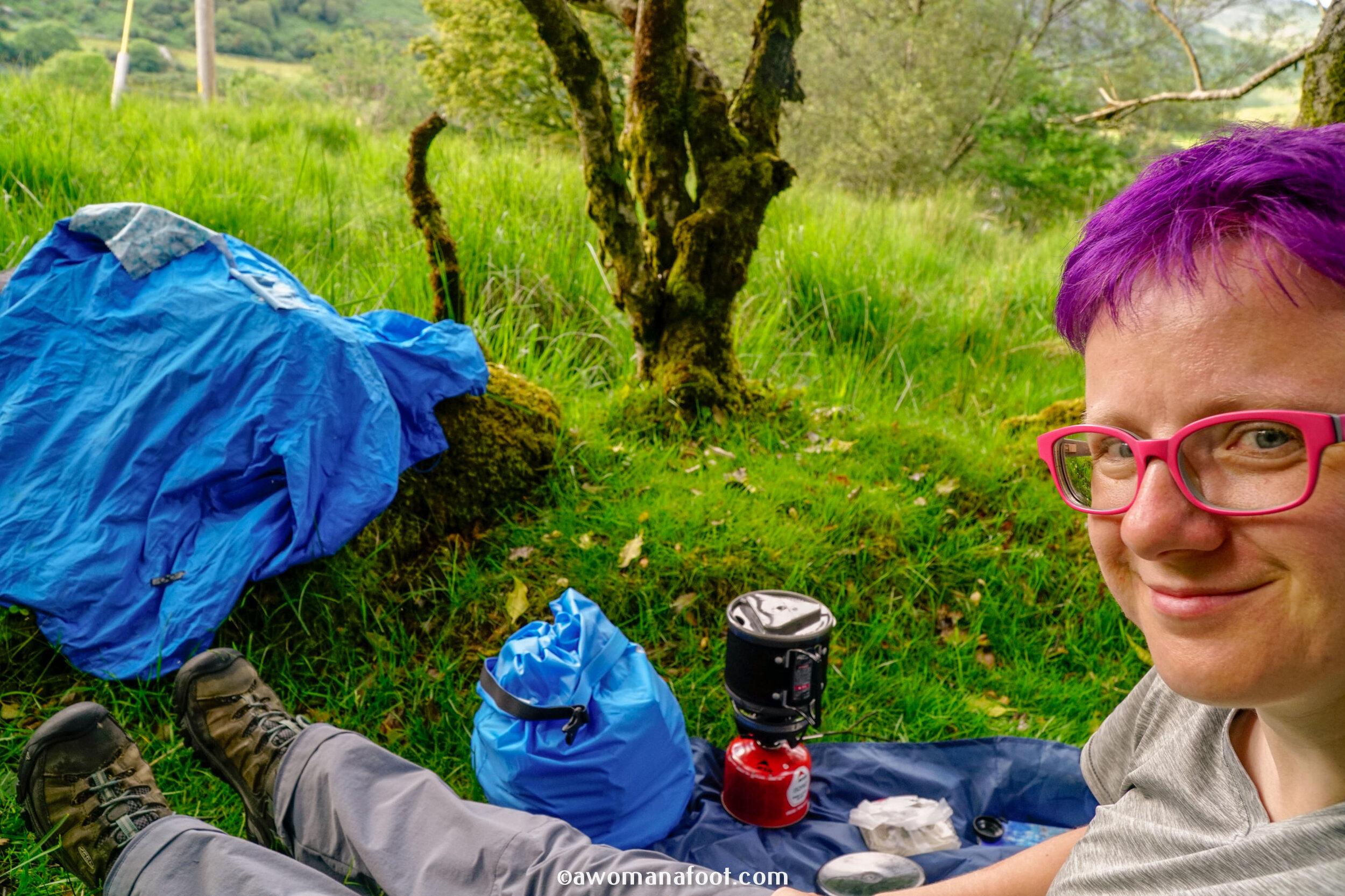 hiking solo Sli Gaeltacht Mhuscrai Ireland gougane barra