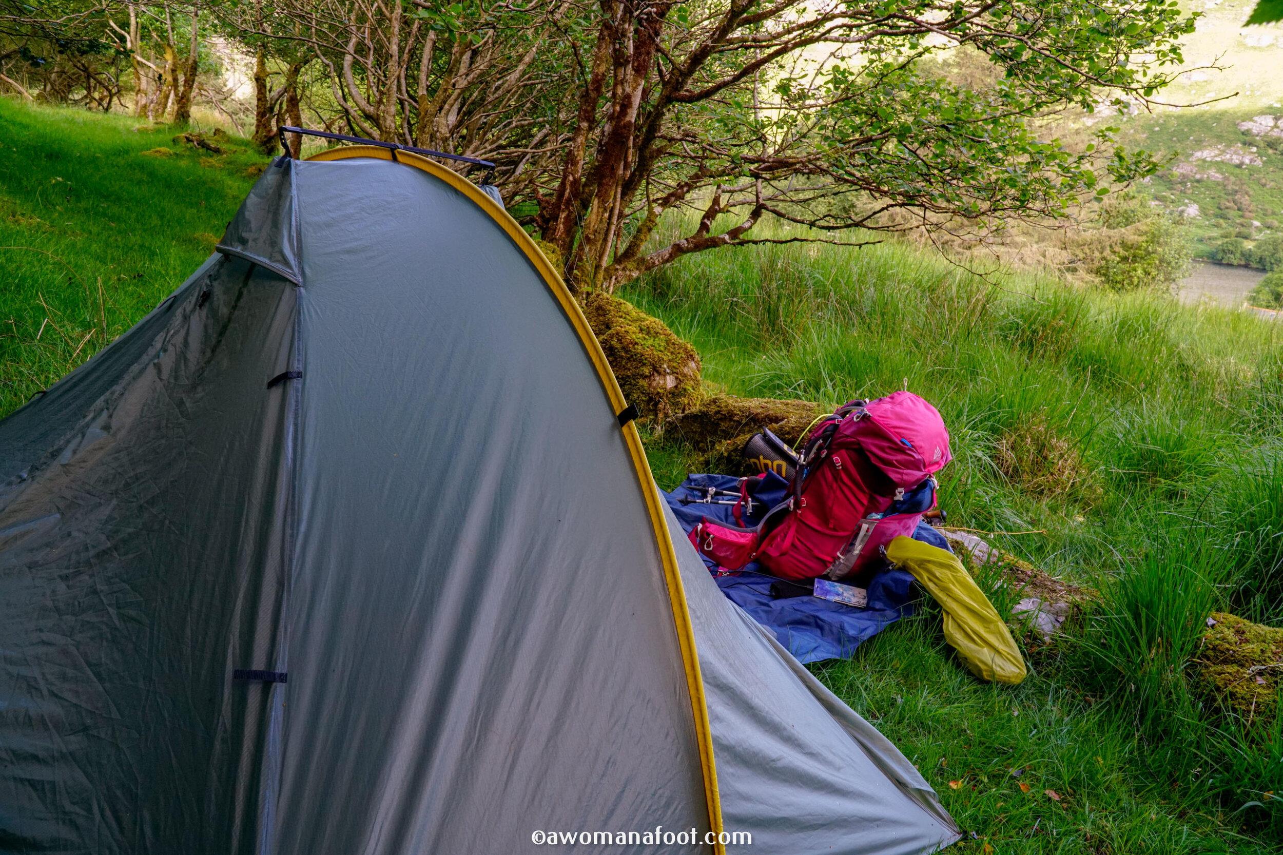 hiking solo Sli Gaeltacht Mhuscrai Ireland Ballyvourney