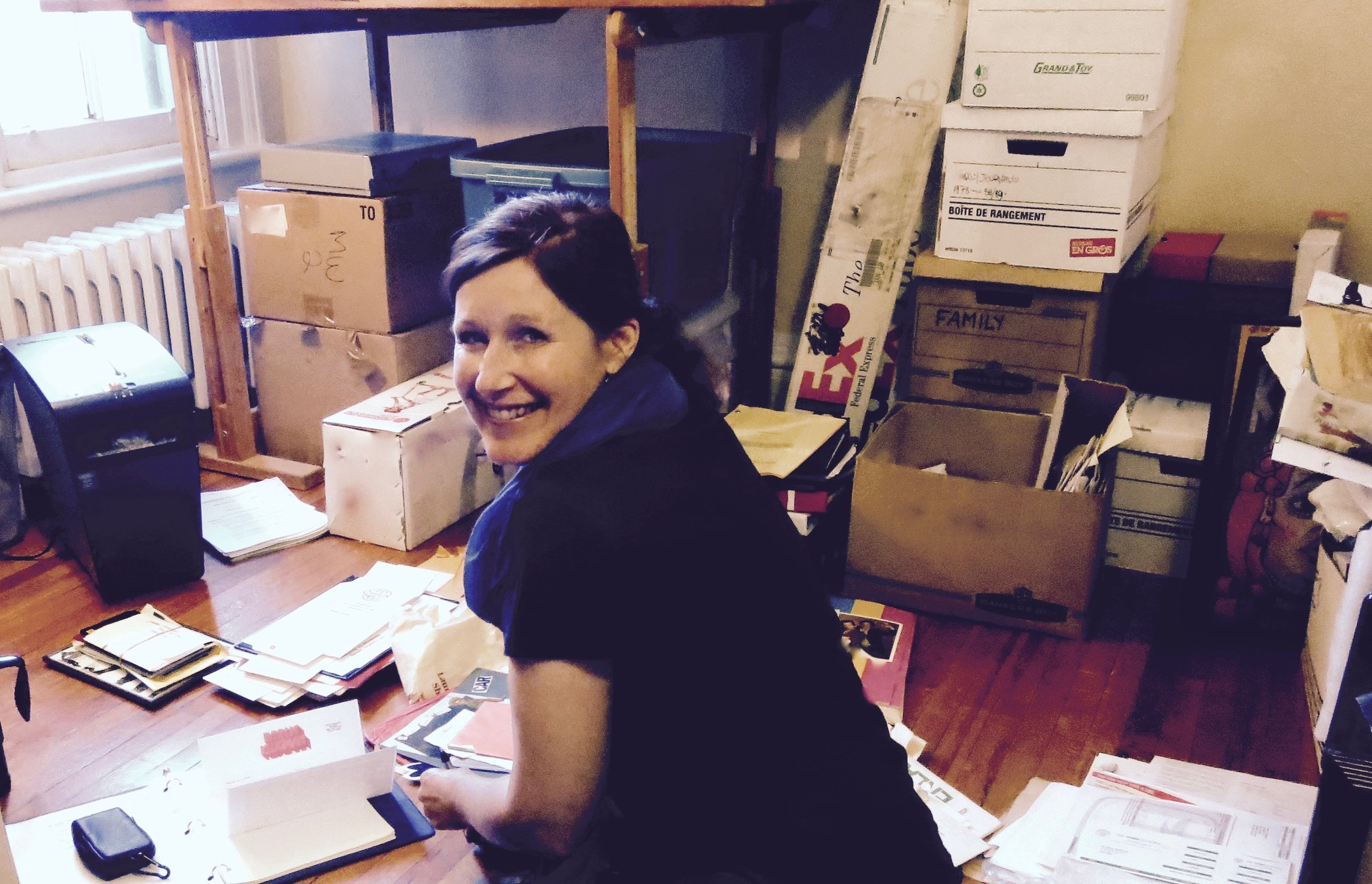HEATHER MOORE, PERSONAL ARCHIVIST