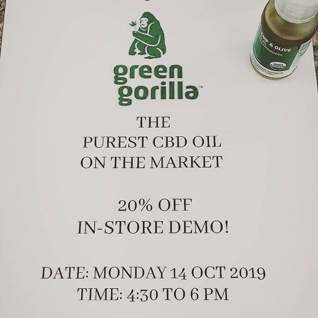 Green Gorilla Meet and Greet!