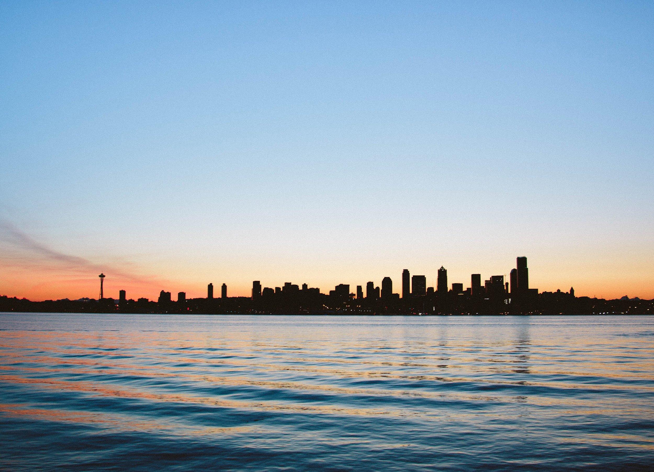 Seattle Skyline by @jakerswong